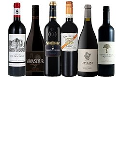 A-mixed-case-of-luxury-red-wines