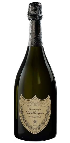 Dom Perignon Brut 2008, Champagne, France with GIFT BOX