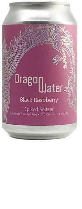 Dragon Water Spiked Seltzer - Black Raspberry - 330ml [ case of 12 ]