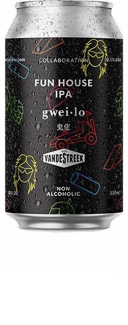Gweilo x VandeStreek Funhouse IPA - 330ml