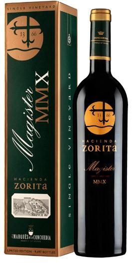 Hacienda Zorita Magister MMXV 2015, Spain