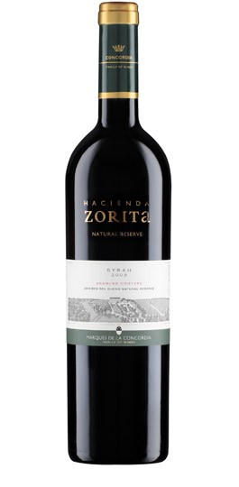 Hacienda Zorita, Natural Reserve Syrah, Spain