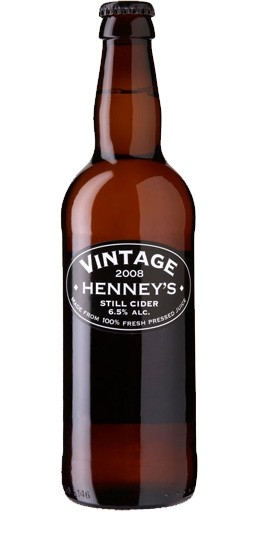 Henney's Vintage Still Cider - 500ml  [case of 8]