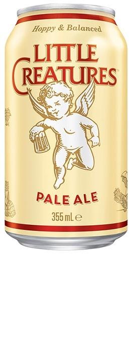 Little Creatures Pale Ale 355ml cans