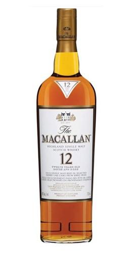 Macallan 12 Yrs Single Malt Sherry Oak - 700ml