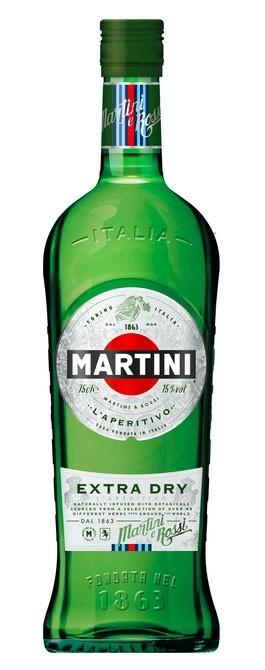 Martini Extra Dry Vermouth - 1 Litre