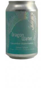Dragon Water Spiked Seltzer - Cucumber Watermelon - 330ml