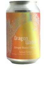 Dragon Water Spiked Seltzer - Ginger Blood Orange - 330ml [ case of 12 ]