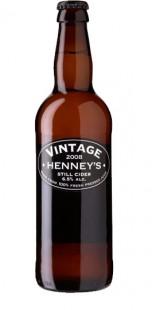 Henney's Vintage Still Cider  - 500ml     * Expires APRIL 2020 *  [case of 8]