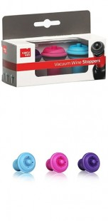 Vacu Vin Wine Saver Stoppers Set of 3