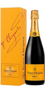 Veuve Clicquot Ponsardin Brut Champagne with Gift Box