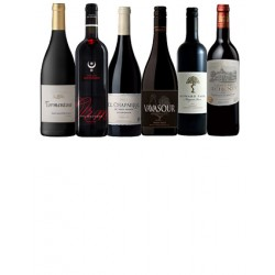 A mixed case of luxury red wines [6 bottles]