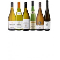 A mixed case of luxury white wines