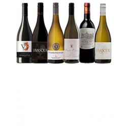 A mixed case of luxury wines