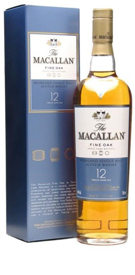 Macallan 12 Yrs Single Malt Fine Oak - 700ml