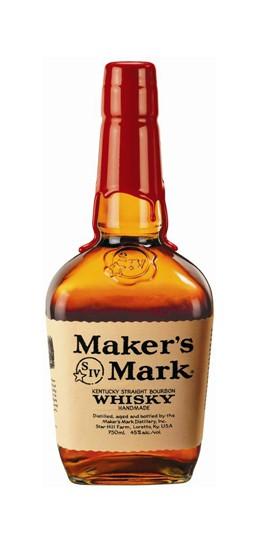Maker's Mark Bourbon Whiskey -  700ml