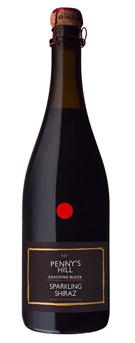 PENNYS HILL CRACKING BLACK SPARKLING SHIRAZ NV