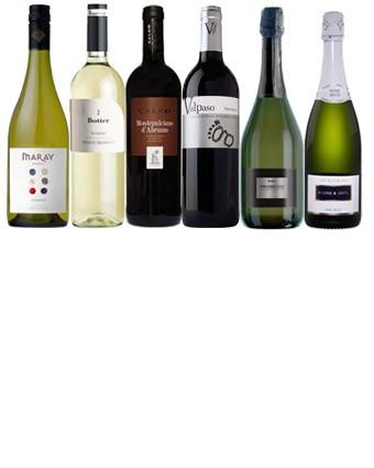 Popular Wedding wines selection