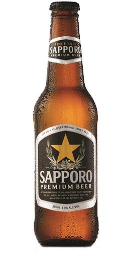 Sapporo Premium Beer 330ml [case of 24]