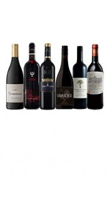 A mixed case of luxury red wines