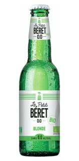 Le Petit Beret, Blonde, Non-alcohol beer - 330ml Bottle [ Pack of 3 ]