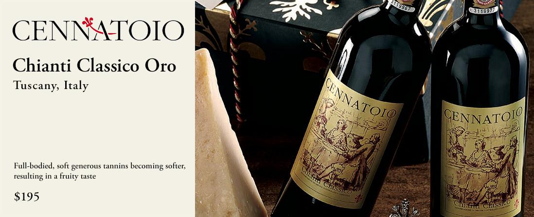 Cennatoio Oro Chianti Classico, Tuscany, Italy