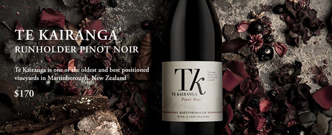 Te Kairanga Runholder Pinot Noir, Martinborough, New Zealand
