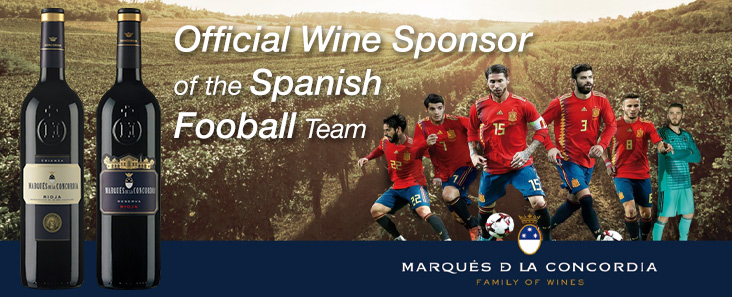 MDLC - Official Wine Sponsor of the Spanish World Cup Team