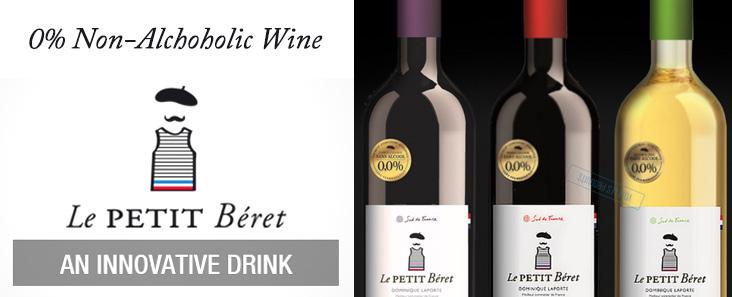Le Petit Beret Non Alcoholic Wine
