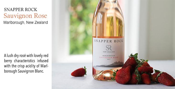 Snapper Rock Sauvignon Rose, Marlborough, New Zealand