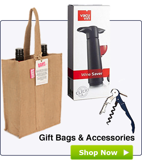 Gift Bags, Cork Screws and Wine Accessories